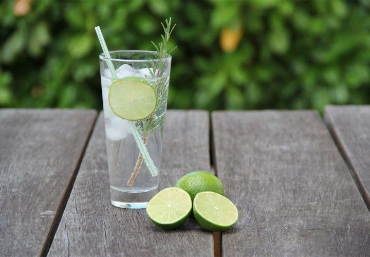 Alkoholische Getränke mit Gin